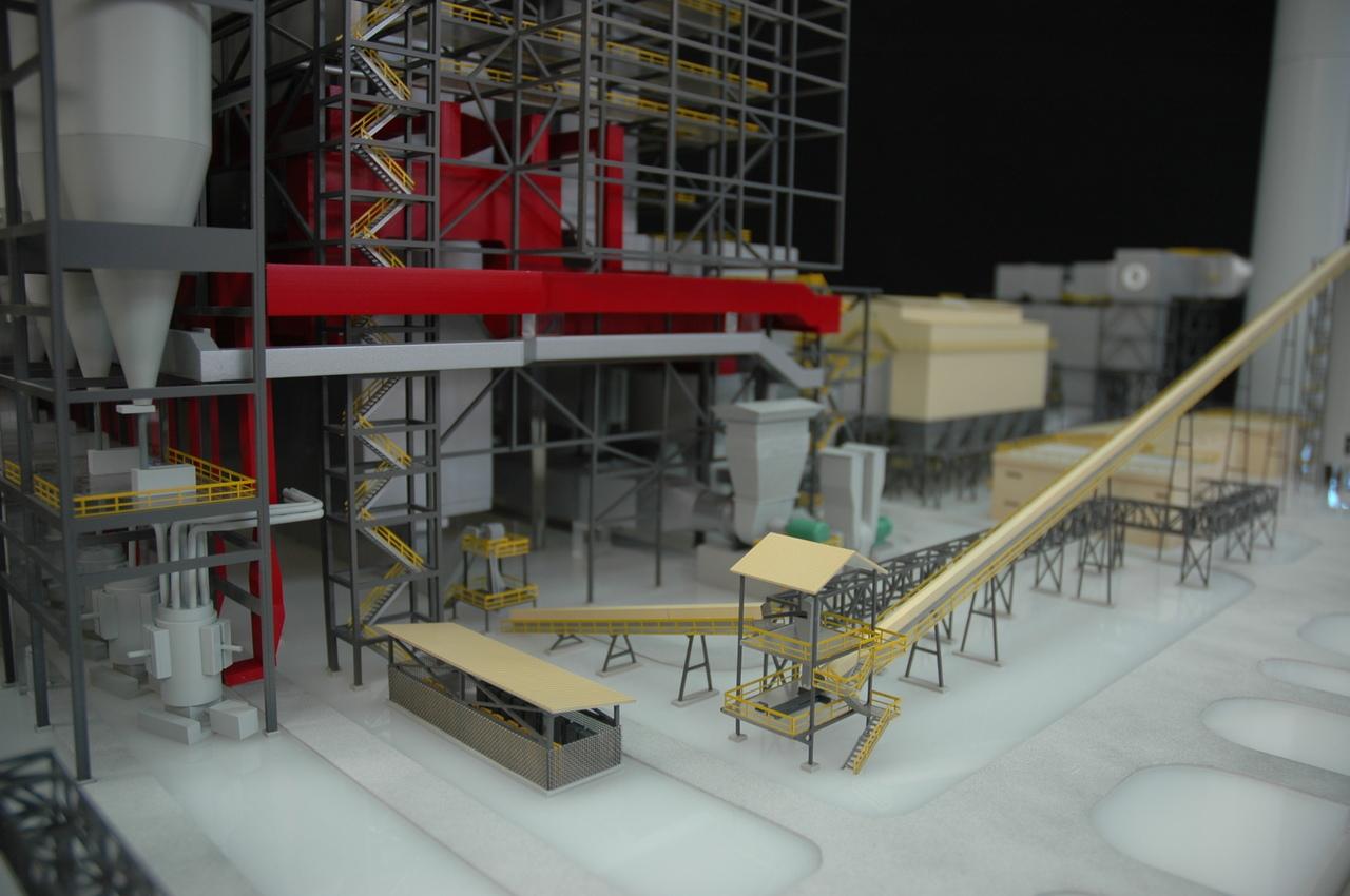 Alstom - 1/200 - centrale charbon