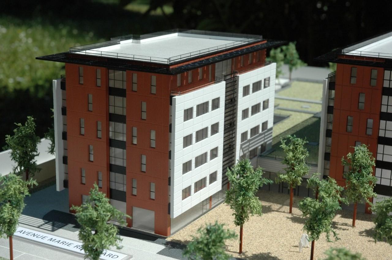 Art de construire - 1/200 - logements