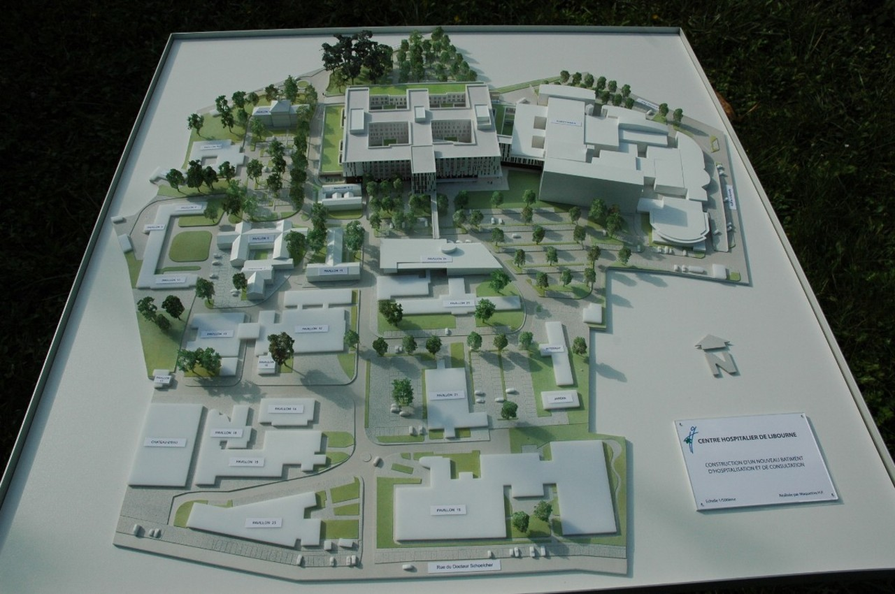 Chabanne et Partenaires - 1/500 - hôpital de Libourne