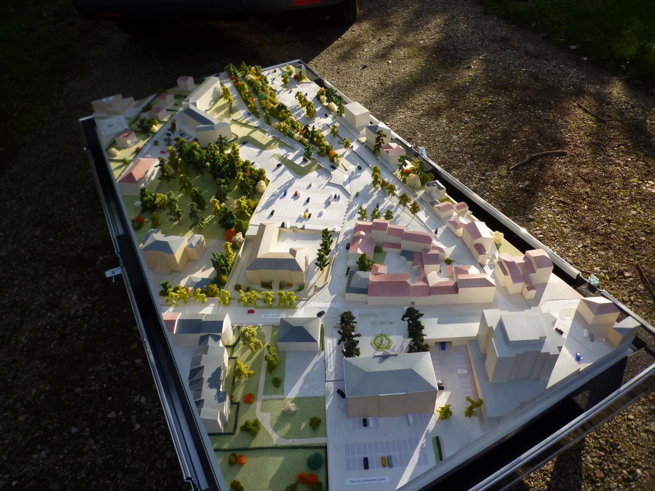 Mairie de St Julien en Genevois - 1/200