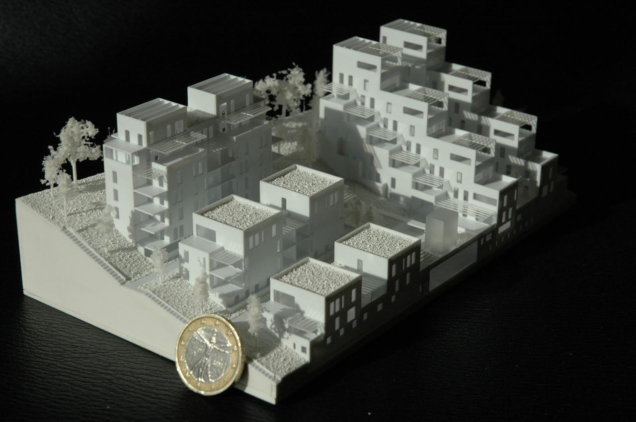 Atelier de la passerelle - 1/500 - logements