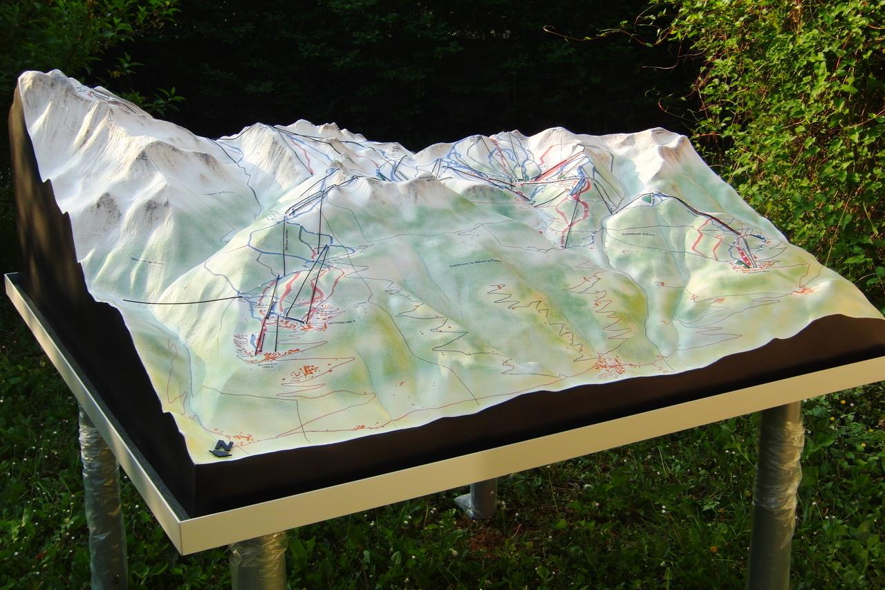 La Plagne - domaine skiable
