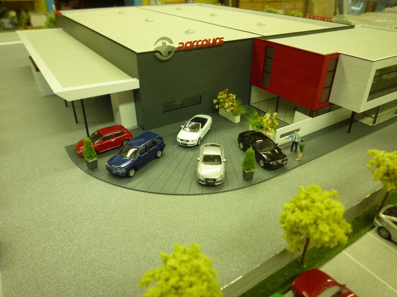 Parcours - 1/72 - concession automobile