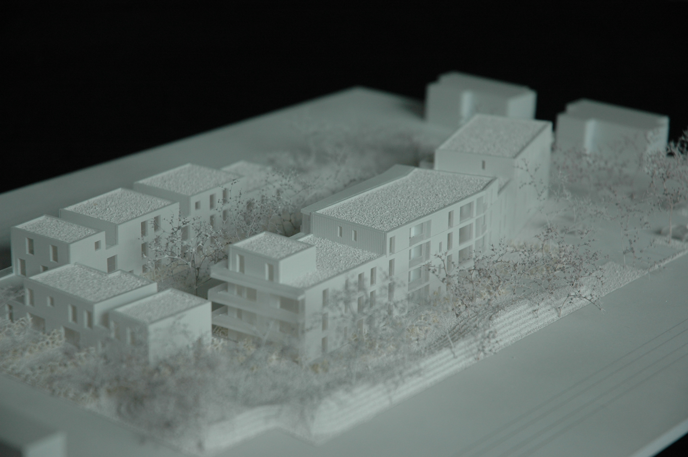 maquette logements