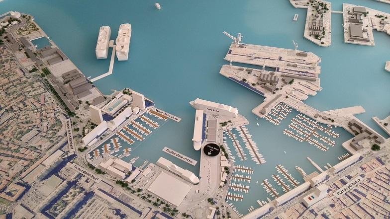 maquette toulon CCI var tourisme urbanisme