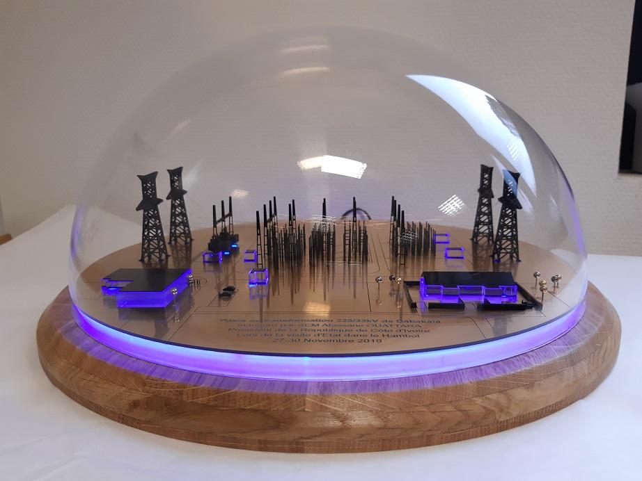 CI energies Tractebel dabakala maquette