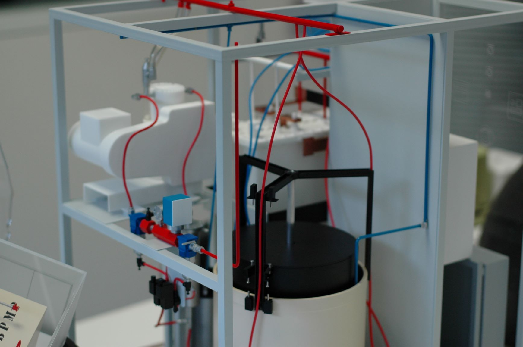 Sagim - Générateur d'Hydrogène échelle 1/4 programmation arduino led moteur