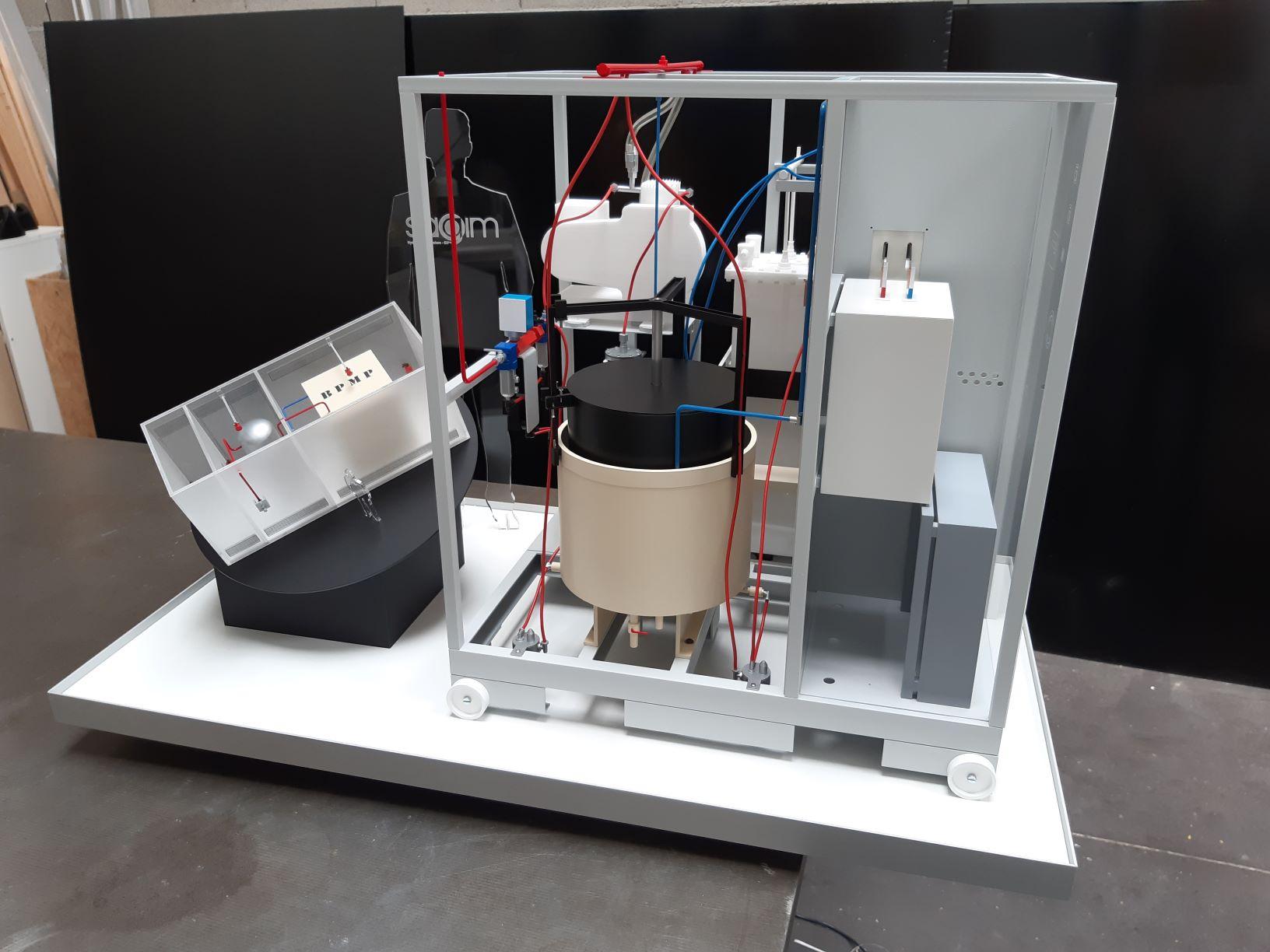 Sagim - Générateur d'Hydrogène échelle 1/4 et 1/25ème